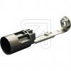 ElectroplastKerzen-Fassung E14 schwarz, L100-120mm->Preis für 5 STK!EUR 2.47 je STK