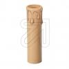 ElectroplastKerzen-Hülse E14 Tropfen/antik-beige->Preis für 5 STK!EUR 0.49 je STK