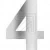 LCD GmbHHausnummer edelstahl 4 HSE4