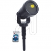 NäveLaser-Strahler m. Projektor schwarz IP65 5200861