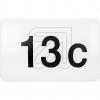 ORNOLED-Hausnummernleuchte IP65 OR-OP-6117LPM4