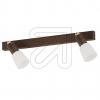 KPM HV-Metall-Strahler 2flg rostfarben 15194/9-21 630475