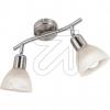 Nino LED-Strahler nickel 2flg 3000K 6W 81890201 630870