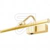 ORION Licht LED-Bilderleuchte 3000K 6W WA 2-1338 gold-matt 631125