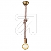 TRIOPendelleuchte altmessing Rope 310100104EEK: E-A++