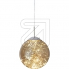 Nino LED-Pendelleuchte Lights chrom/amber 3000K 12W 341 632310