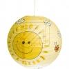 Josef Niermann Pendelleuchte gelb Papierballon Sunny 154 634395