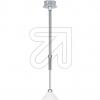 KPM LED Pendelleuchte chrom/titan/silber 1flg 10026-1- 634765