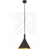 ORION LichtPendelleuchte schwarz/gold HL 6-1627 schwarz/goldEEK: E-A++