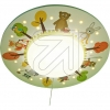 Josef NiermannCeiling light funny forest animals 765