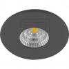 EVNLED-Möbel-/ Einbaustrahler IP44 4,5W 380lm 3000K schwarz L44041602