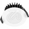 EVNLED-Einbaustrahler CCT IP54 Aluminium L54N070125