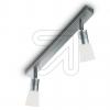 KPM Halopin Metall-Strahler 2flg titan silber 15194-9- 650805