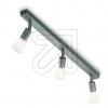 KPMHalopin Metall-Strahler 3flg titan silber 15195-9-23 (15195-EEK: E-A++