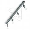 KPMHalopin Metall-Strahler 4flg titan silber 15197-9-23 (15197-EEK: E-A++