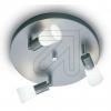 KPM Halopin Metall-Deckenteller 3flg titan silber 1519 650825