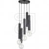 SPOT-LIGHTPendelleuchte Metall schwarz 5xE27/60W Ø 280mm L1000mm 16709504R