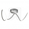 Nino LED-Deckenleuchte silber Voluta 3000K 26W 61220144 665400