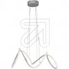 Nino LED-Pendelleuchte silber Voluta 3000K 24W 31220144 665405