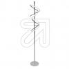 Nino LED-Stehleuchte silber Voluta 3000K 22W 41220144 665410