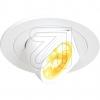 EVNLED Einbaustrahler 9W 3000K weiß PCD0902EEK: A (LED)