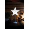 SeasonLED Dekoleuchte Stern m. Standfuß H51cm weiß 62495L (32495L)EEK: A (LED)