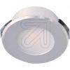 EVNLED Einbauleuchte silber rund 3000K L22151402EEK: A++ (LED)