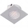 EVNLED Einbauleuchte silber quadr. 3000K L2415140EEK: A++ (LED)