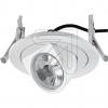 EVNLED Einbaustrahler dreh-und schwenkbar weiß PCD0940EEK: A (LED)