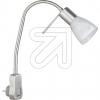 TRIOLED-Steckerspot Levisto nickel 3000K 6W 891010107EEK: