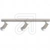 KPM HV-Metall-Strahler 3flg nickel matt 15295-45 677075