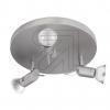 KPMHV-Metall-Deckenteller 3flg nickel matt 15296-45EEK: E-A++