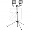 SMARTWARES10.047.38 (TL800A)* Stativ-Halogenfluter IP44 2xR7s/400W 114,2mm alu/schwarzEEK:E-A ++