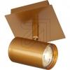 BöhmerHochvolt-Strahler Metall goldfarben 42012
