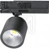 Licht 2000LED-Strahler CASA 24 für 3-Phasen-Schienensystem 6,5W 1200lm 3000K schwarz 61318A
