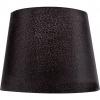 ORION LichtTextilschirm Loch-Ø 40mm Ø 157/235mm H180mm Schirm für Fassung E274-1205 schwarz