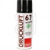 Kontakt ChemieDruckluft 67 Hochdruck-Spray 340ml->EUR 64.56 je L