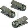 HellumErsatz-Klammern passend für Hellum innen und außen Lichterketten mit Fassung E10 1,5x4,5cm grün 983104-Preis für 3 St
