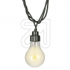 Best SeasonLED System-Biergartenlichterkette innen und außen IP44 10x6 LEDs warmweiß 465-65