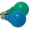 Konstsmide5685-420 System-Außenketten LED-Kugellampen E14 grün/bl.-Preis für 2 St.