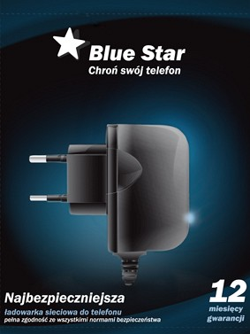 Blue Star NETZLADEKABEL APP iPhone 3G/3GS/4/4S NEUE BLUE STA 16630-400L