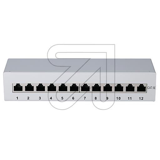 GHP Patchpanel CAT.5E 12 Ports 37657.1 235005