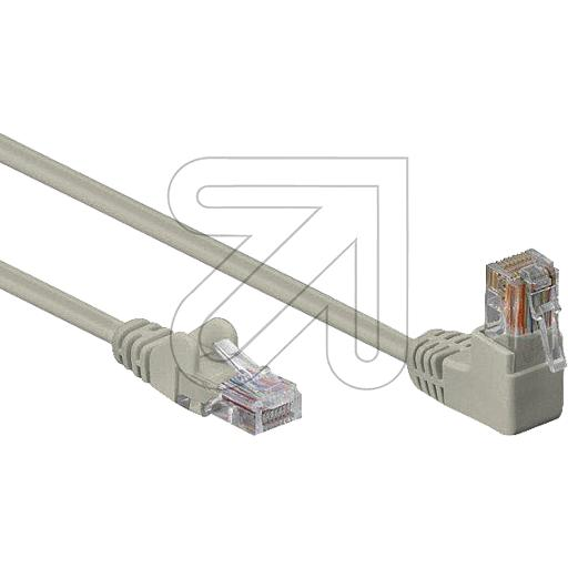 EGB Patchkabel CAT 6 Winkel-gerade 1 m 236120