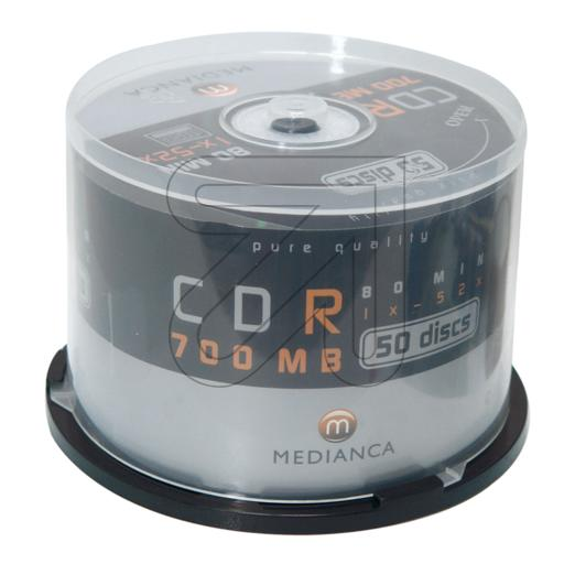 EGB CD-Rohlinge 50`Spindel CD-R 700MB/80min. 353410->EUR 0.34 je St