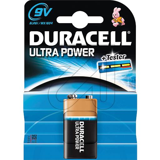 Duracell 9V-Block Ultra Power 81478216 373600-> EUR 2.95 je