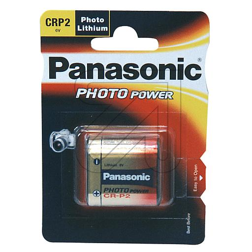 Panasonic Foto-Batterie CR-P2L/1BP 376500