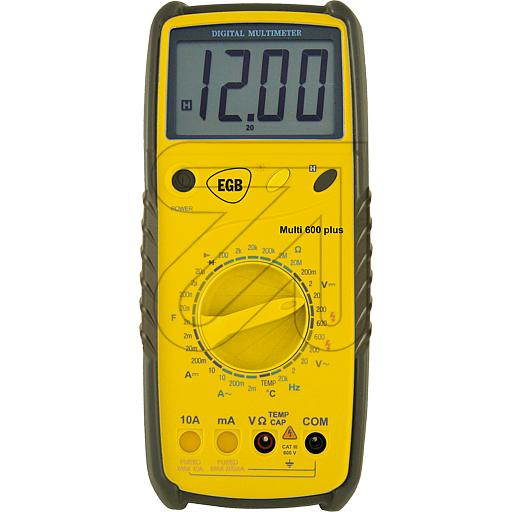 EGB Digital-Multimeter Multi 600plus 757300