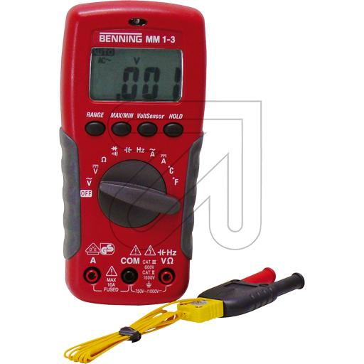 Benning Digital-Multimeter MM1-3 758645