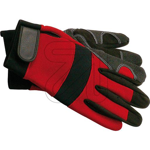 VLith Polytex-Mechanikerhandschuhe Gr.10 (XL) rot 770280