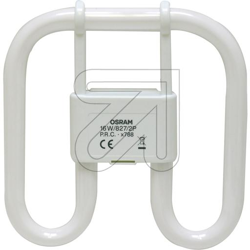 Osram CFL SQUARE 16W/827 GR8 2-PIN 816852 525420